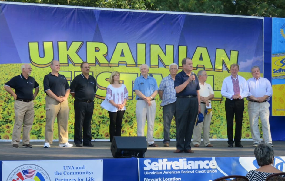 Selfreliance Federal Credit Union - Ukrainian Festival-goers at the UACCNJ