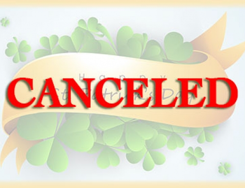 CANCELED > ST. PATRICK'S DAY (HOVERLIA) < CANCELED